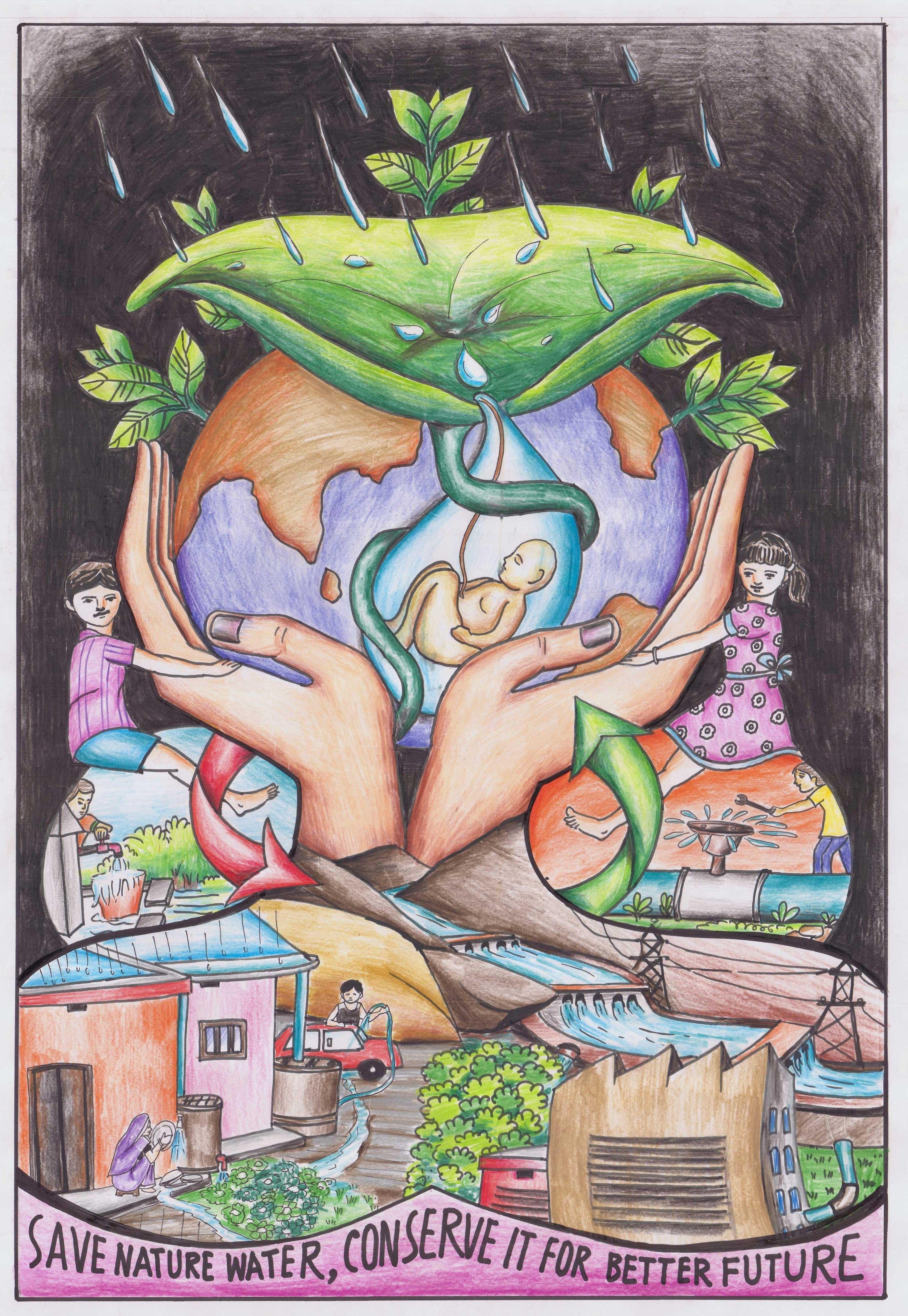 Poster From 2nd Winner Binita Biswajeeta Dav High School