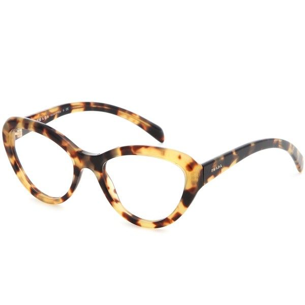 1ab09d88464b Optical glasses Prada ($265) ❤ liked on Polyvore featuring accessories,  eyewear…