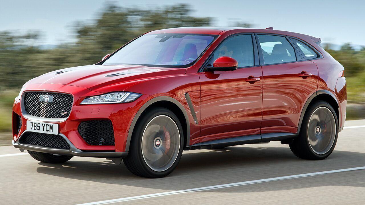 Fox News 2019 Jaguar F Pace Svr Jag S First Monster Truck Jaguar Monster Trucks Cars Usa