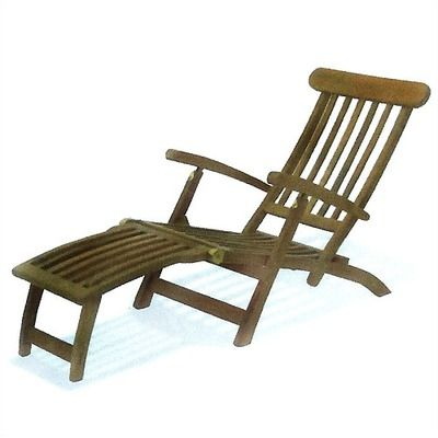 Fullerton Reclining Chaise Lounge With Cushion Patio