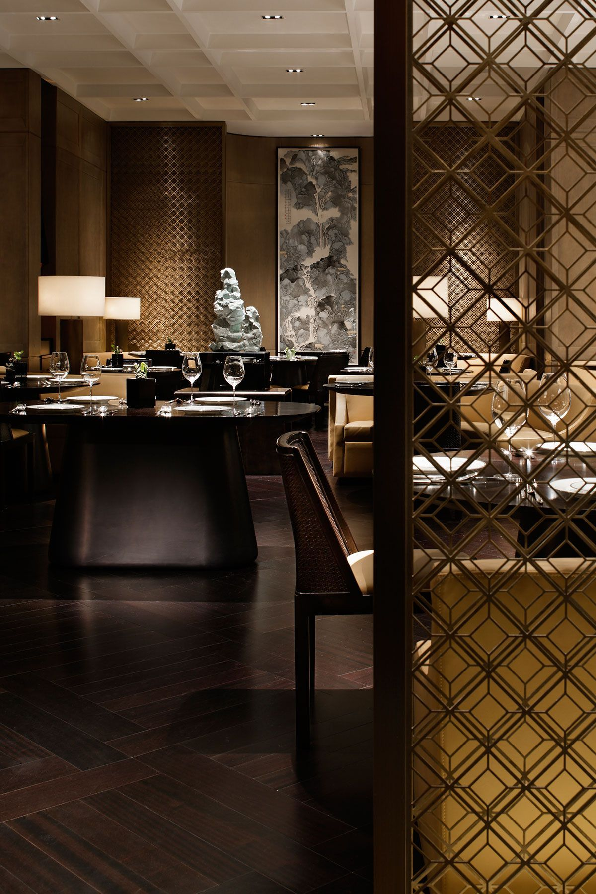 Yabu pushelberg waldorf astoria beijing yabu pushelberg - Interior design for hotels and restaurants ...
