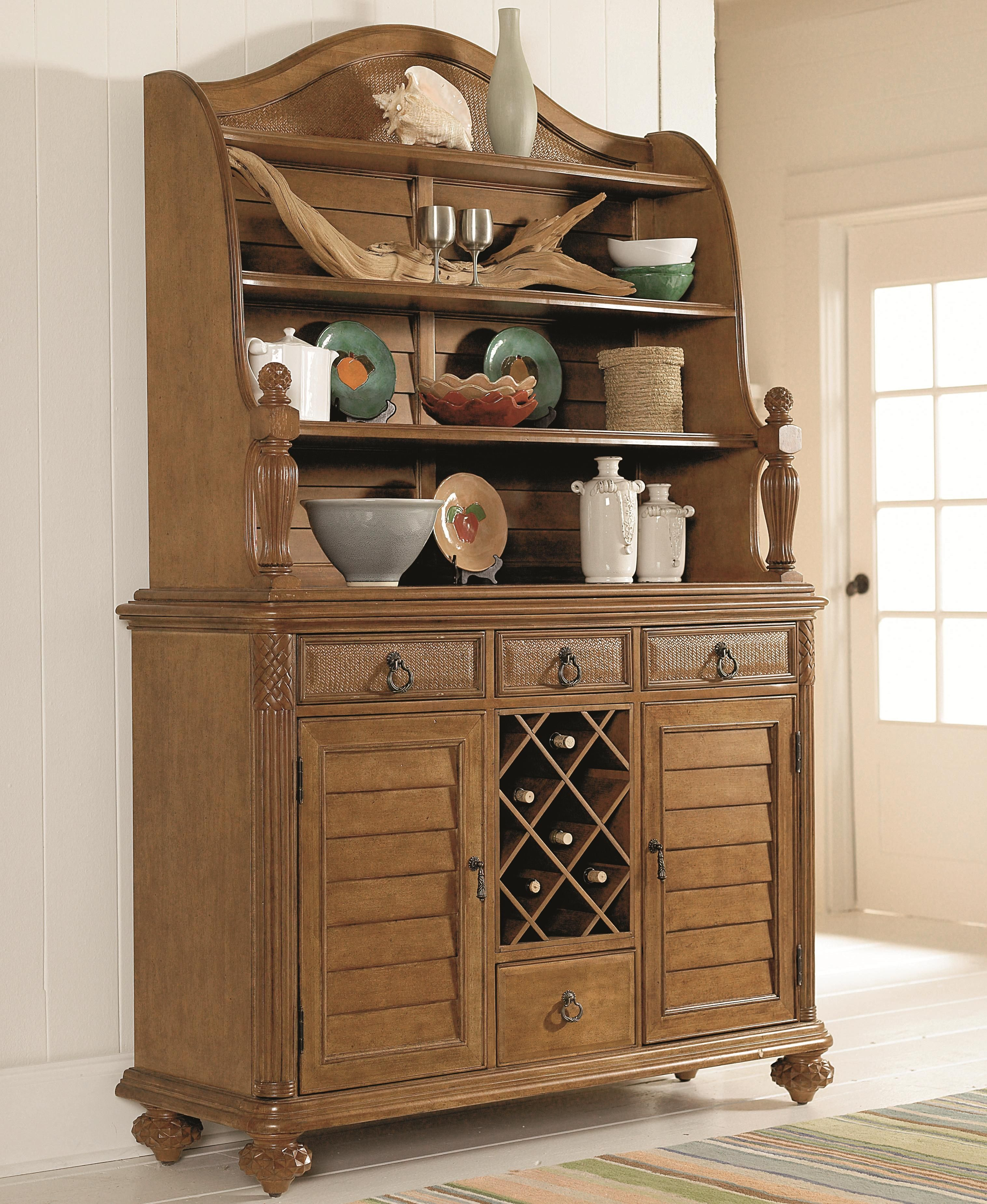 Grand Isle Buffet With Hutch By American Drew