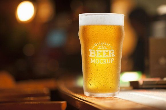 Beer Glass Mock Up 65 Mockup Design Mockup Free Mocking