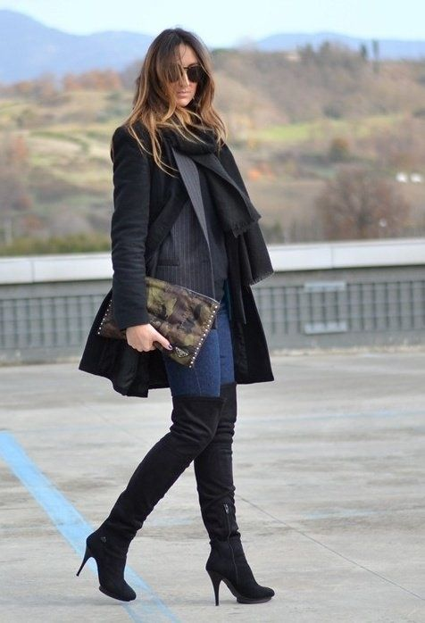 e019f2fd5e3 How to Wear Over the Knee Boots
