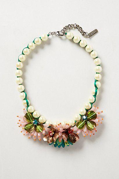 Lily Bib Necklace - anthropologie.com