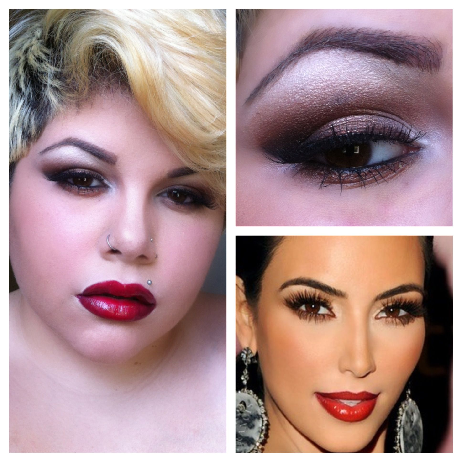 Recreated a Kim Kardashian look