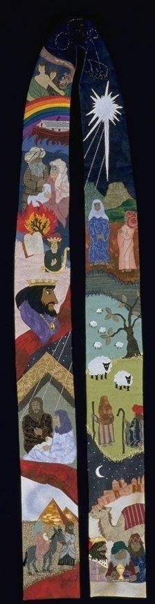 Advent/Christmas stole from institches.com