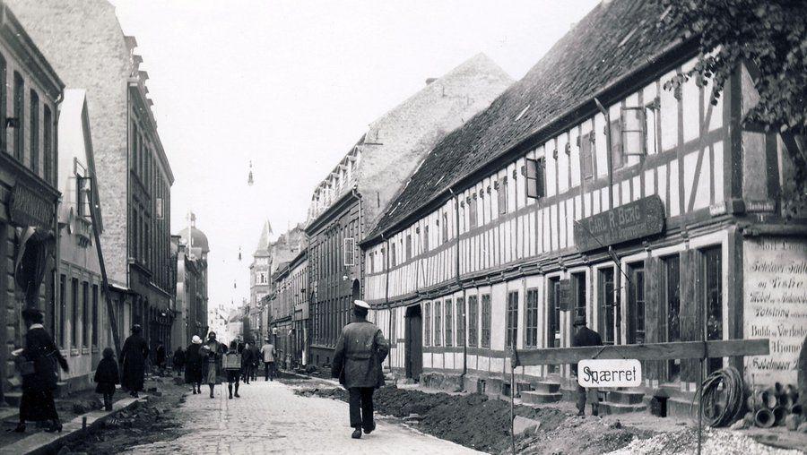 Købmandsgårdens historie