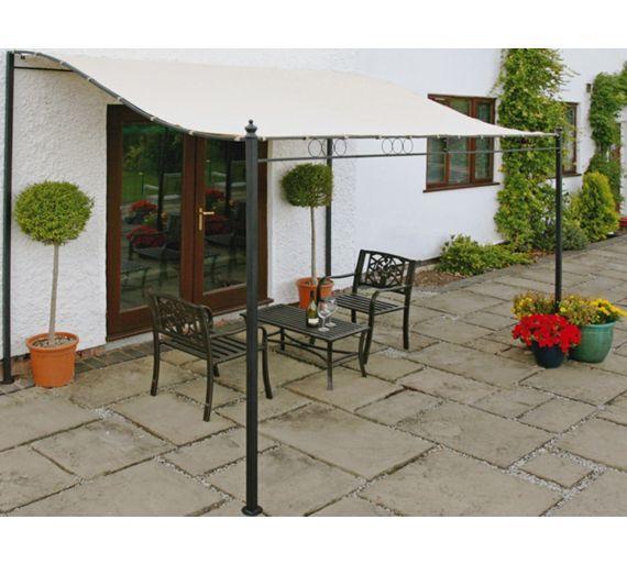 Buy Wall Mounted Garden Gazebo 2.5m at Argos.co.uk, visit ...