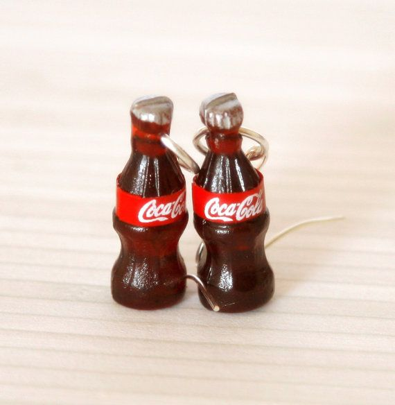 2 Bottles Ice Bucket Coke Coca Cola Dollhouse Miniatures Refrigerator Magnet