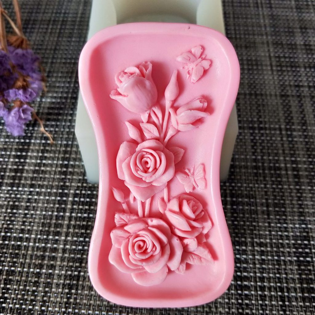PRZY Flower Soap Silicone Mold Silicone molds, Soap, Diy