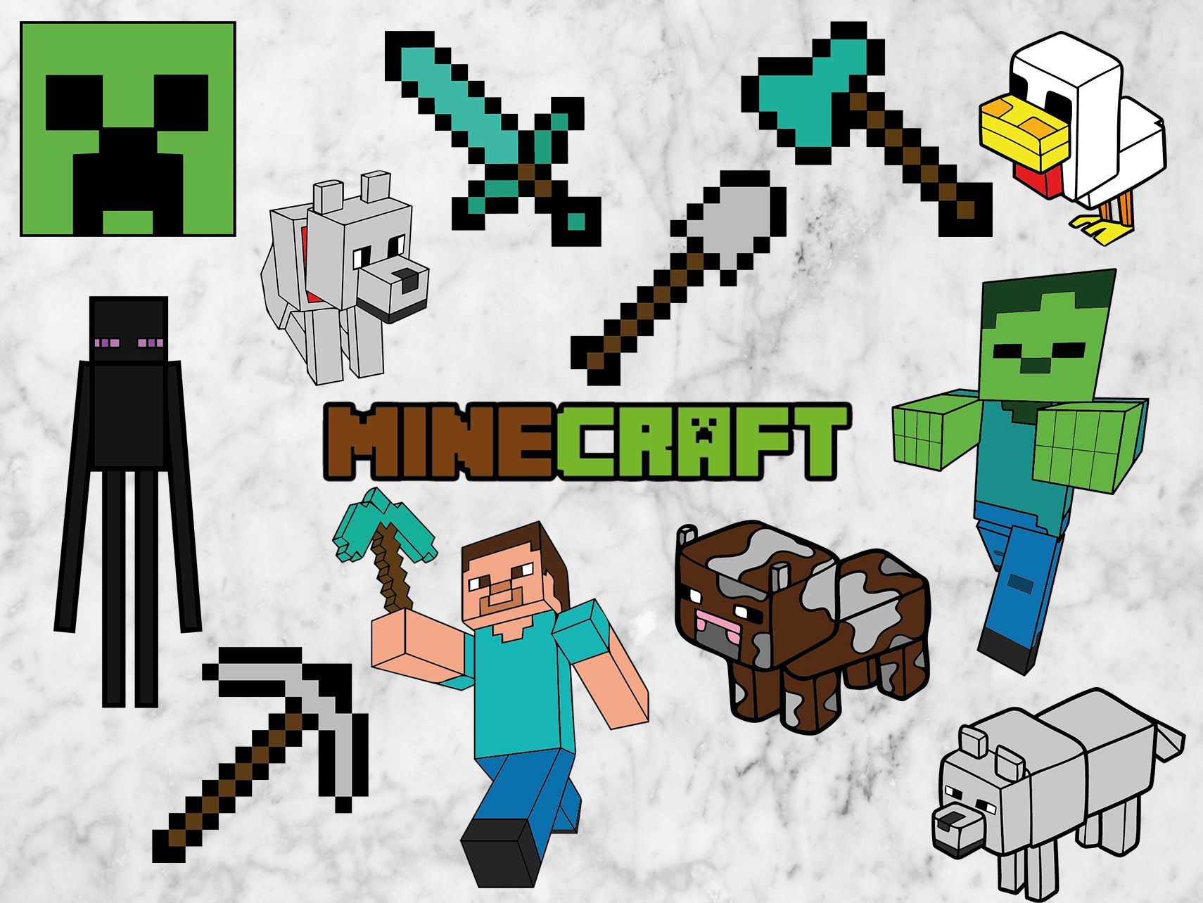 Pin on Minecraft party