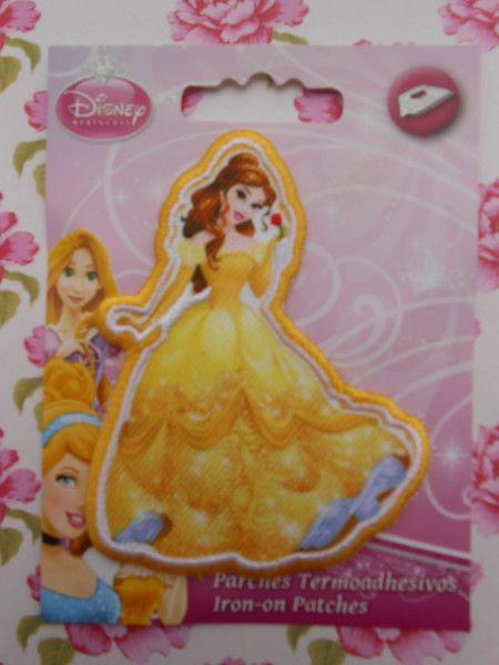 Toppe ricamate - Disney Belle Applicazione Termoadesiva Ricamata - un prodotto unico di raffasupplies su DaWanda
