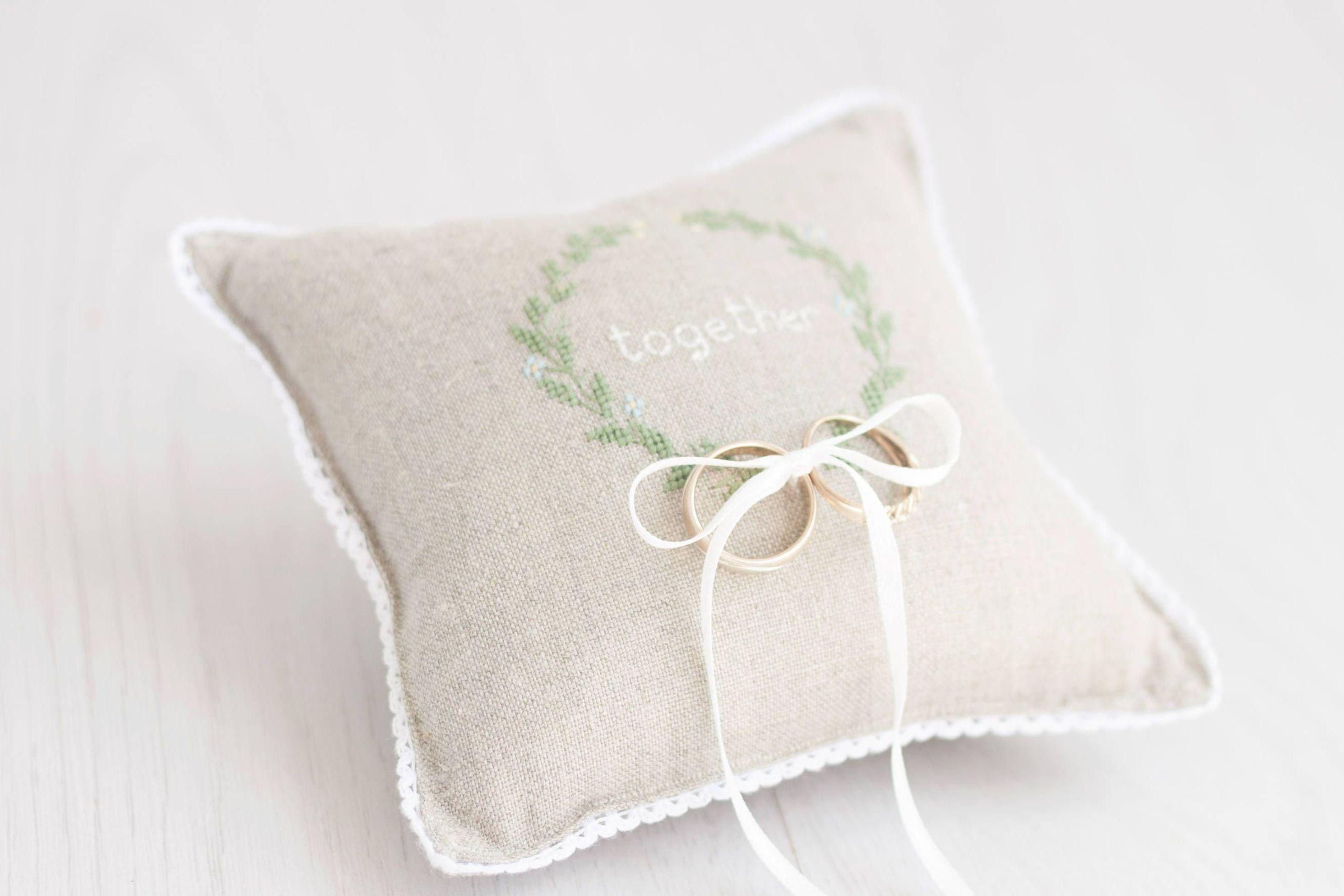 ring bearer pillow wedding ring pillow