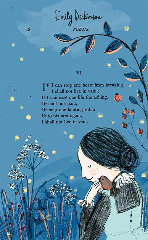 Emily Dickinson • Morena Forza Children's Illustration