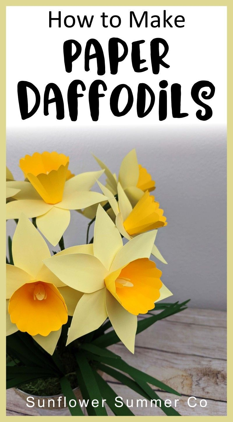 Paper Daffodil Paper flower