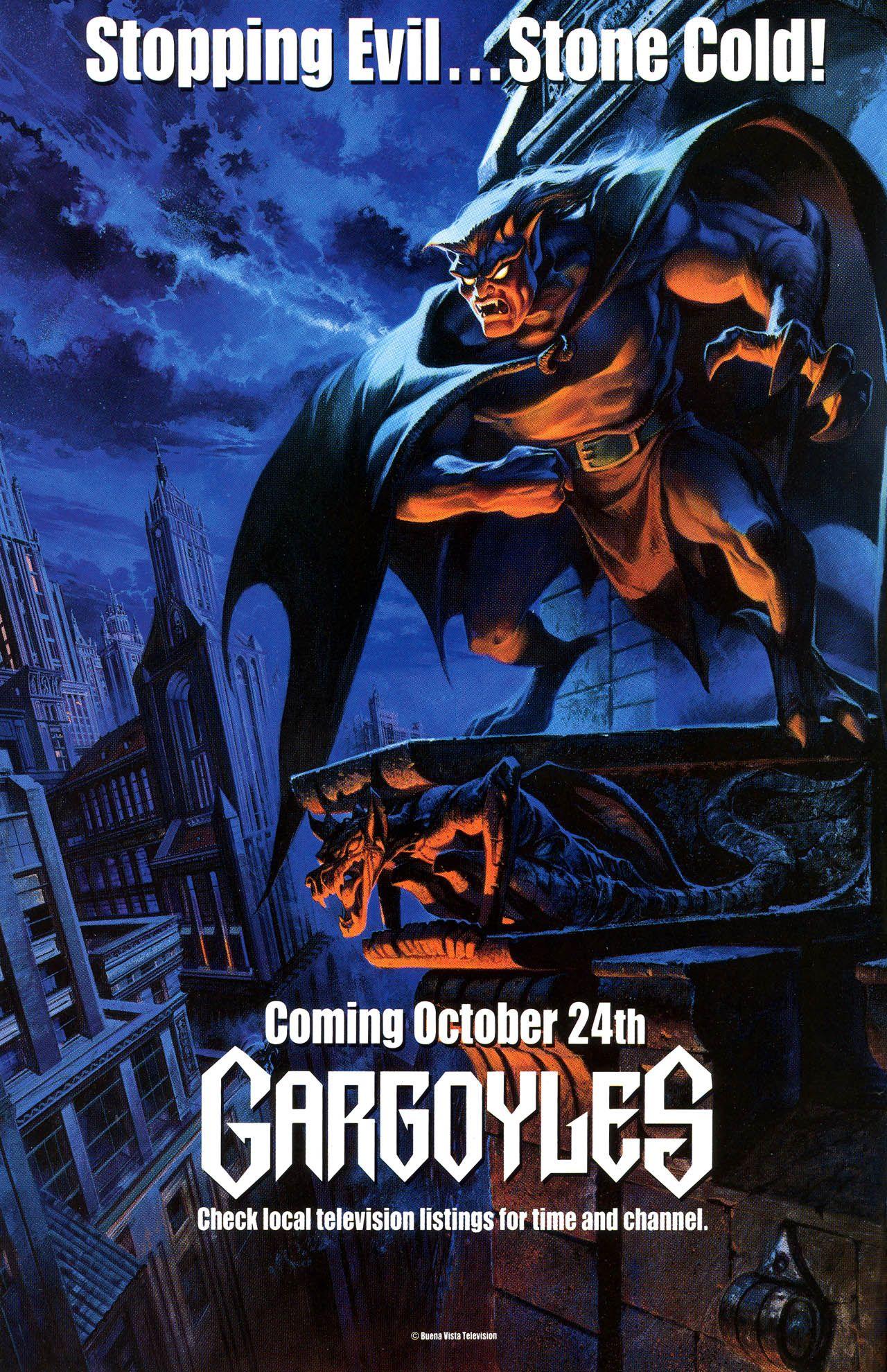 Gargoyles ad gargoyles cartoon gargoyles disney