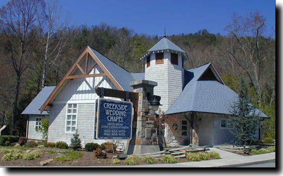 Creekside Wedding Chapel Gatlinburg Tn Chapels Tennessee Yahoo Image