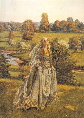 Guinevere - Eleanor Fortescue Brickdale - 1871-1945  via Hereismyheart
