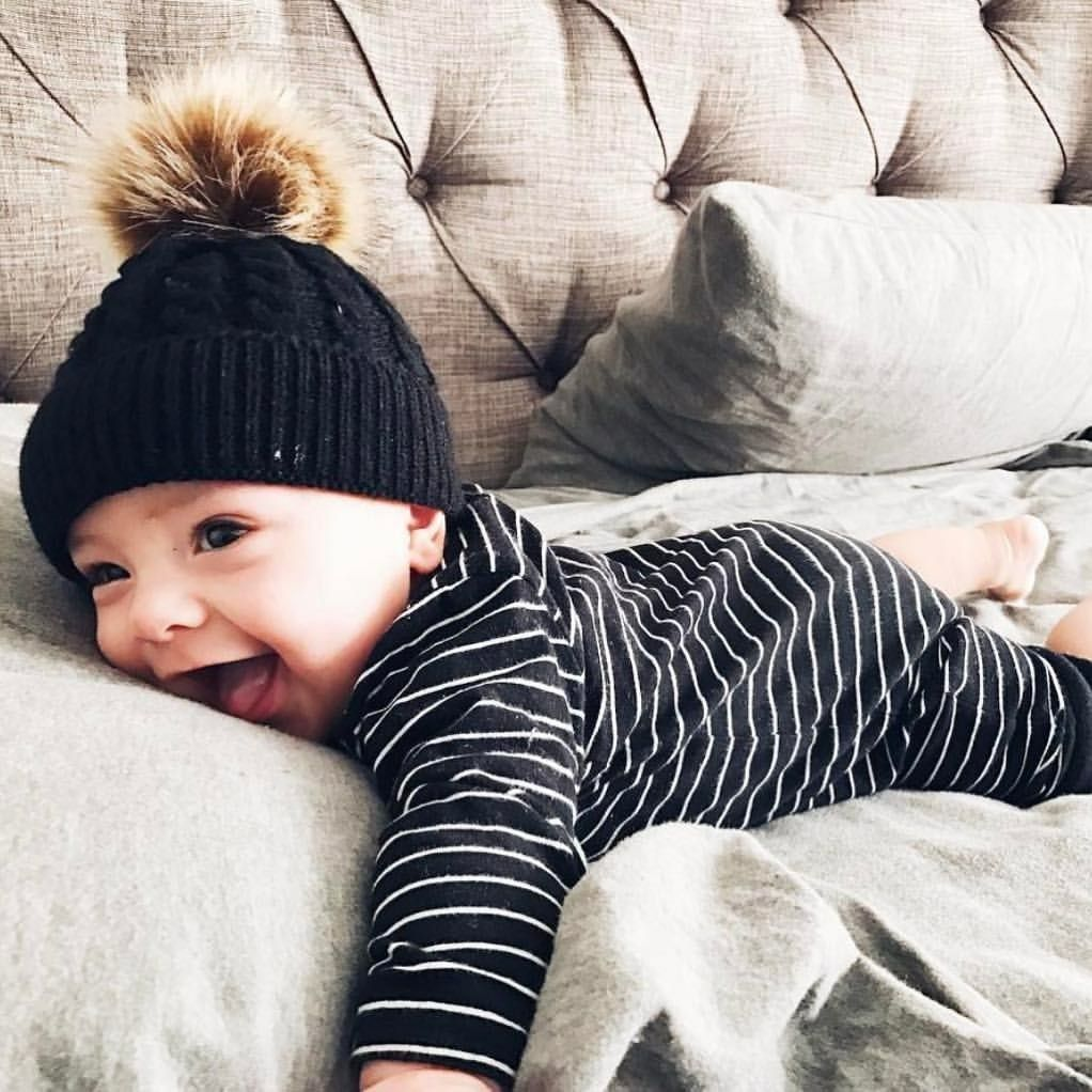 Pin By Ashleyanderss On Beanies Baby Winter Hats Cute Baby Pictures Toddler Beanie