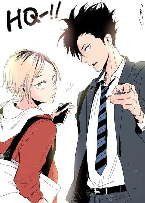 Kenma and Tetsuro