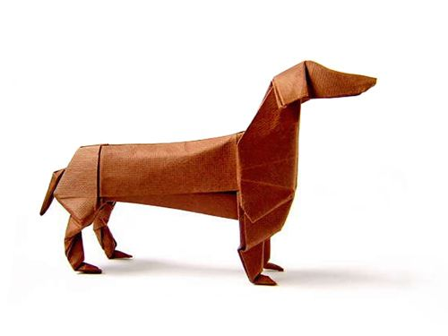 Origami Dachshund Instructions Google Search Origami