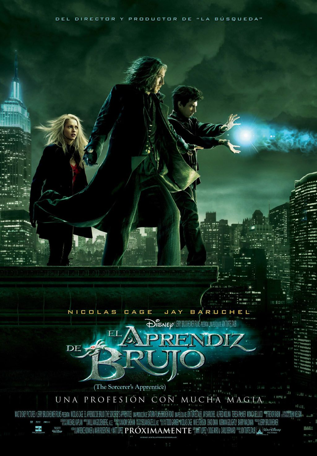 El Aprendiz De Brujo Poster 2010 Filmes Aprendiz Filmes