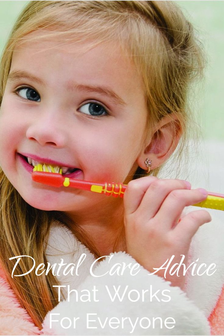 Dental Care Advice That Works for Everyone including a 3 Year Old #dentalfacts