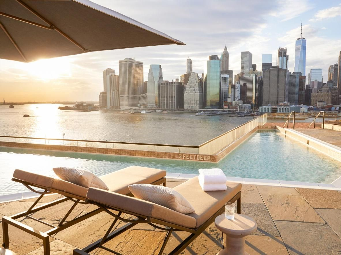 5 Of New York City S Coolest Rooftop Pools Booking Com Cool Swimming Pools Hotel Pool Rooftop Pool