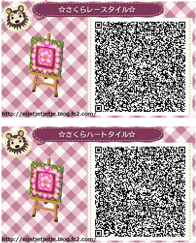 Animal Crossing New Leaf Qr Code Paths Pattern Qr Codes Animal