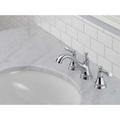 Delta Silverton 8 in. Widespread 2-Handle Bathroom Faucet in Chrome-35713LF-ECO - The Home Depot