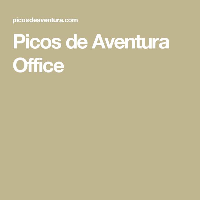 Picos de Aventura Office