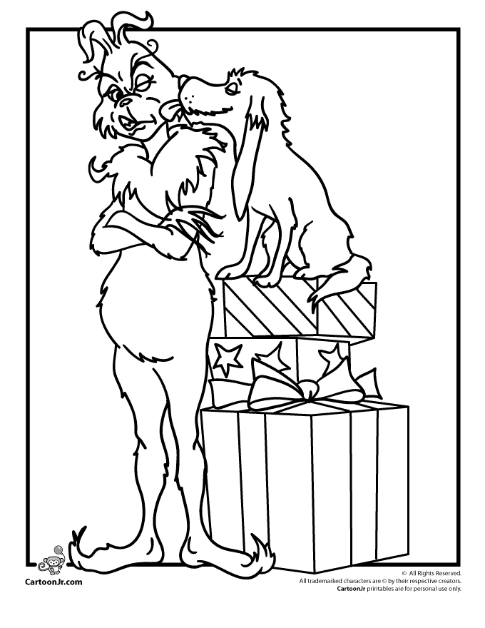 Grinch Coloring Pages GRINCH Pinterest Bricolage