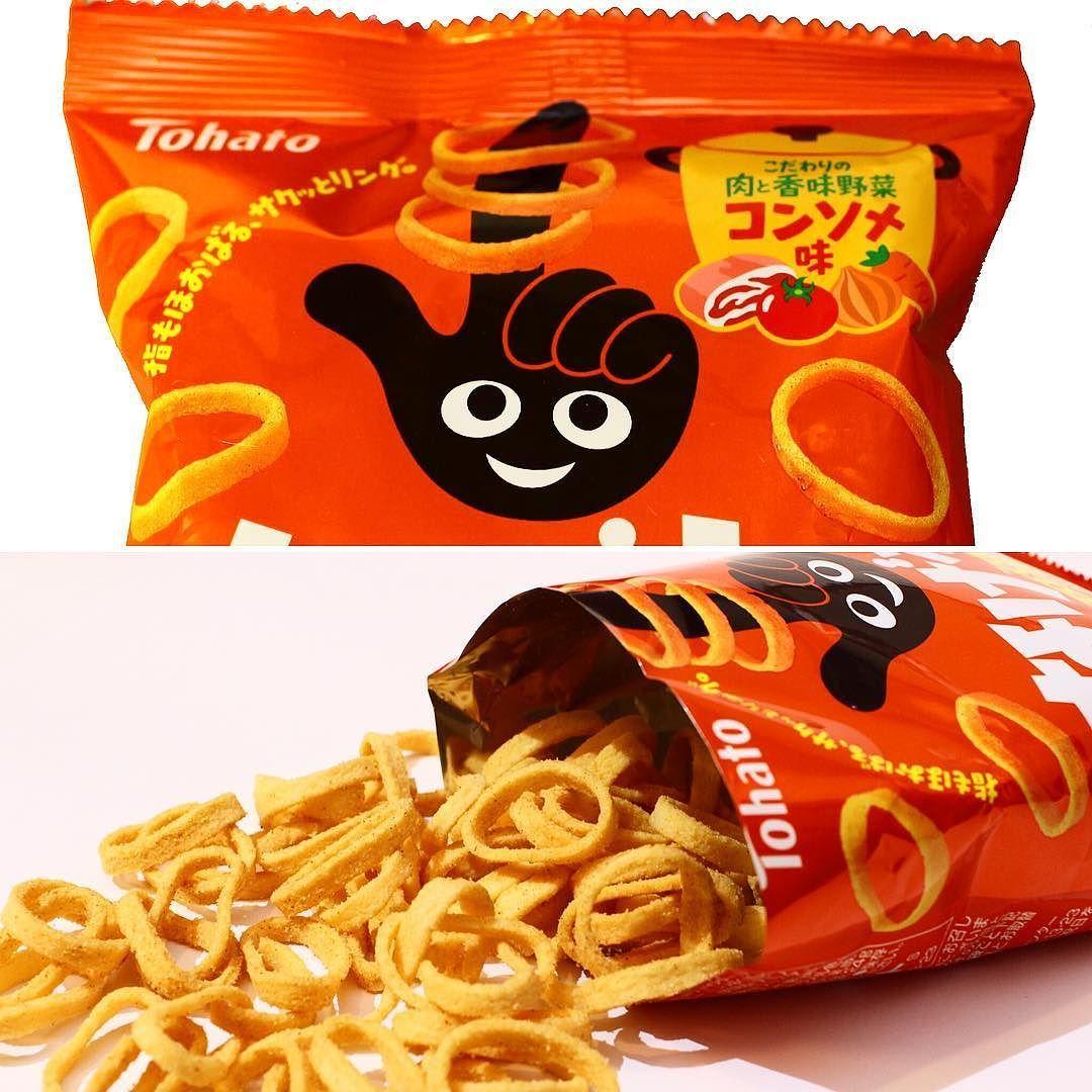 #Nagewa #bfjagosto  Estos clásicos pero divertidos aros de patata tienen una textura ligera y crujiente. Llévalos en los dedos y cómetelos! Con sabor a carne y consomé de hierbas aromáticas.  www.boxfromjapan.com  #BoxFromJapan #bfj #BFJAugust #snack