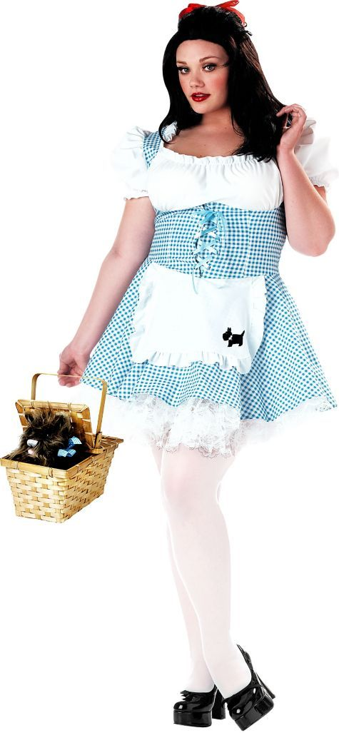 Plus Size Miss Dorothy Costume for Women - Party City halloween - party city store costumes