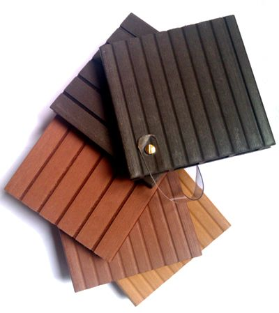 Materiales gama de colores madera tecnologica especial - Pavimentos para jardines ...
