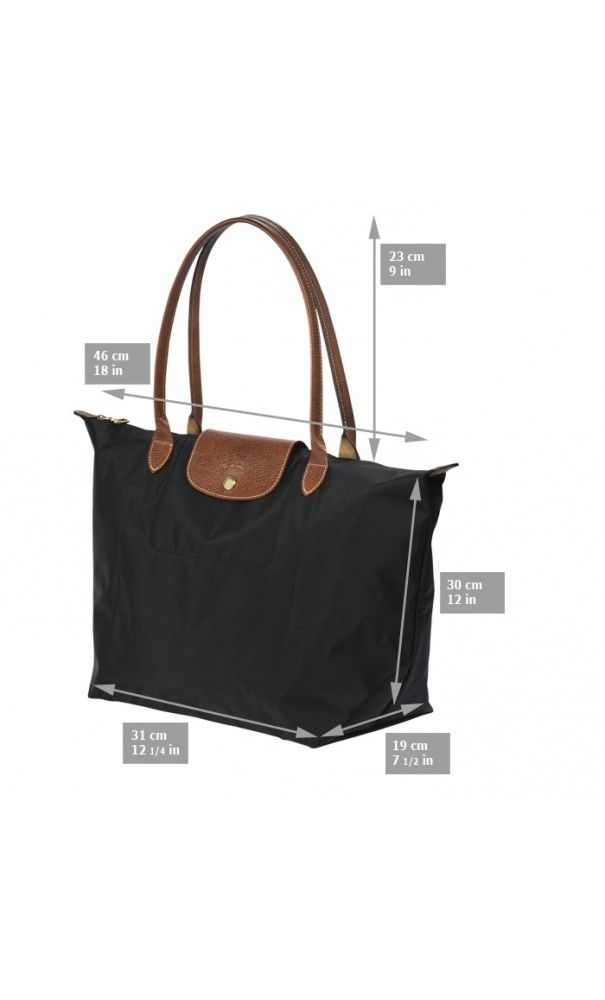 Longchamp Le Pliage Large Tote Bag Black  SS16  handbags  mothersday ... 968d6462dfc52