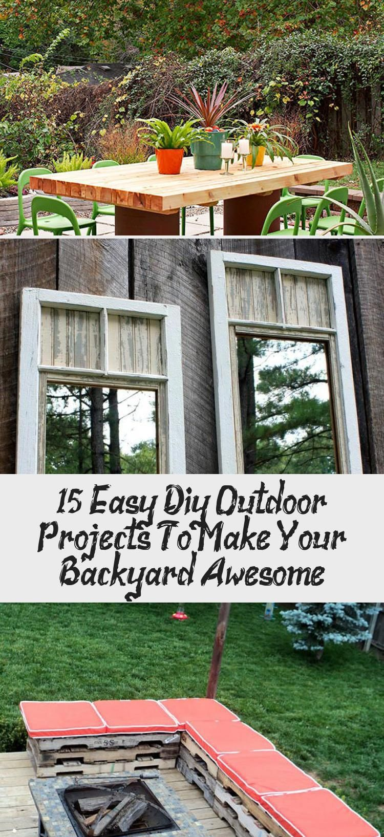 Photo of 15 Easy Diy Outdoor Projects To Make Your Backyard Awesome – Pinokyo