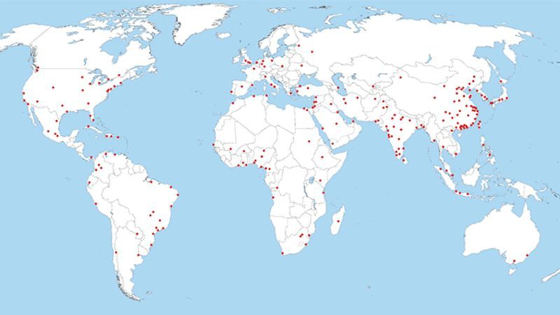 Why Cities Are Where They Are in the World   Natural resources
