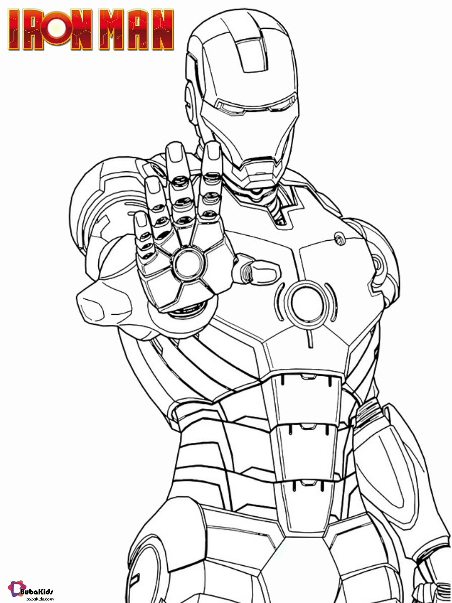 Free Download Iron Man Coloring Page Collection Of Cartoon Coloring Pages For Teenage P In 2020 Superhero Coloring Pages Avengers Coloring Pages Online Coloring Pages