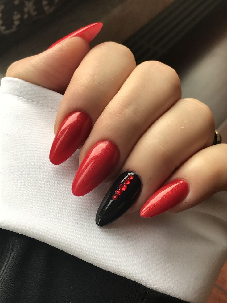 @pelikh_ideas nails in 2020 (With images) | Red nails ...