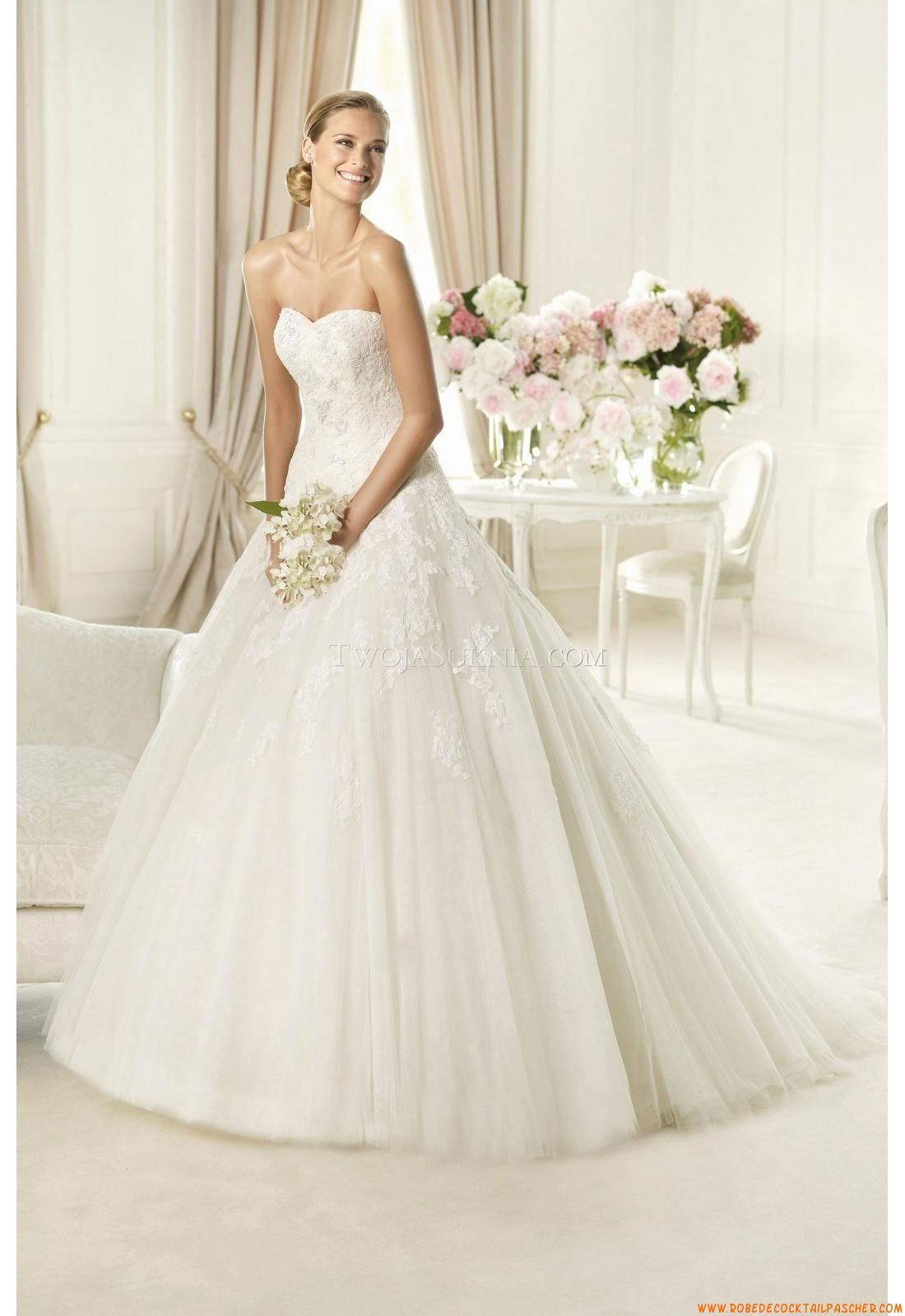 Cheap Vestidos De Novia Buy Quality Gown Wedding Directly From China Ball Dresses Suppliers V Neck Lace Appliques Royal Train Gowns