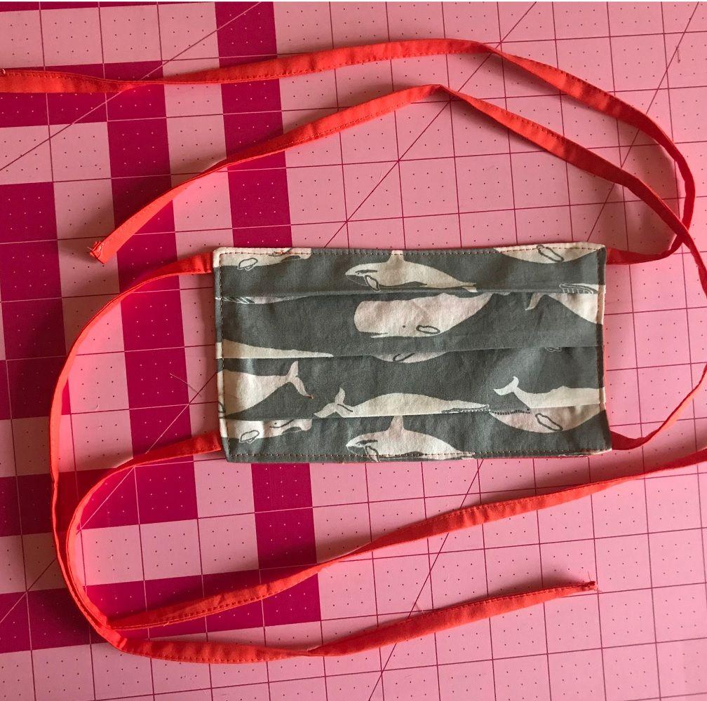 Fabric Face Mask Sewing Pattern