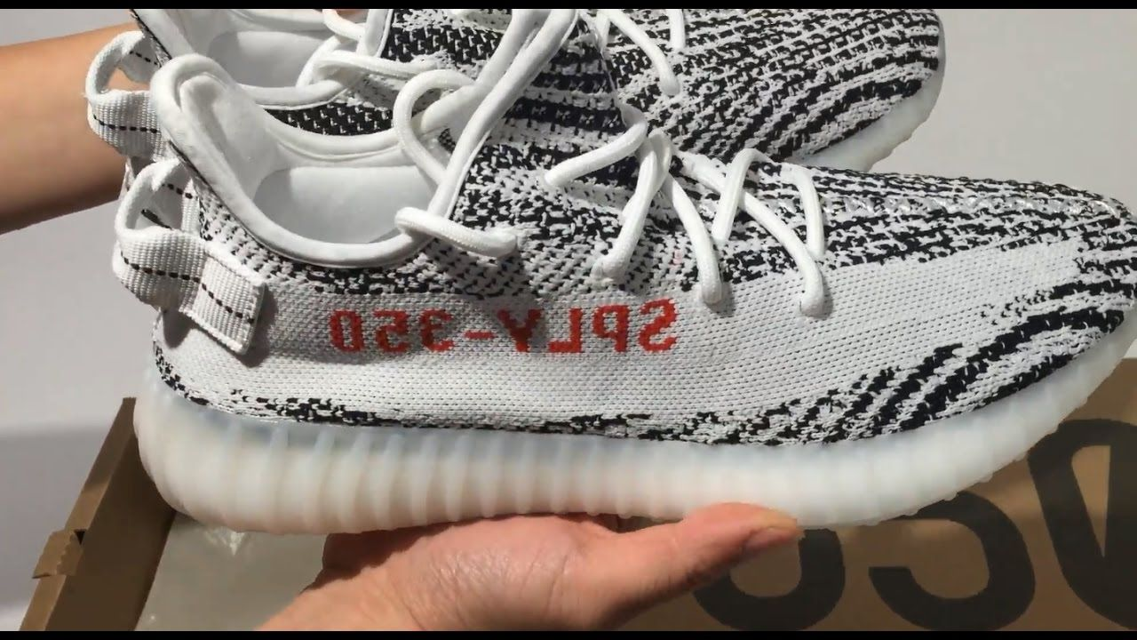 Yeezy 350 V2 Boost SPLV ZEBRA Unboxing Review