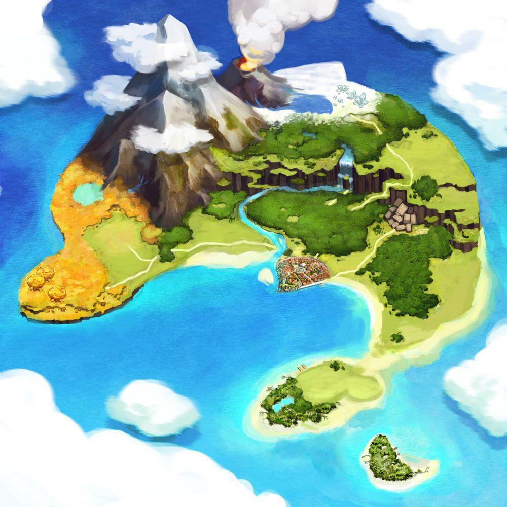Atelier Annie Alchemists of Sera Island Art Pictures World Map art