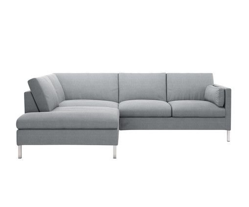 Lehnen Sie Sich Zuruck Sofa JACOBSEN Ist Eine Echte Ruhelandschaft Furs Wohnzimmer Trendfarbe Grau