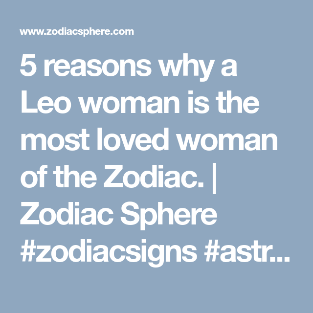 About leo woman sexuality