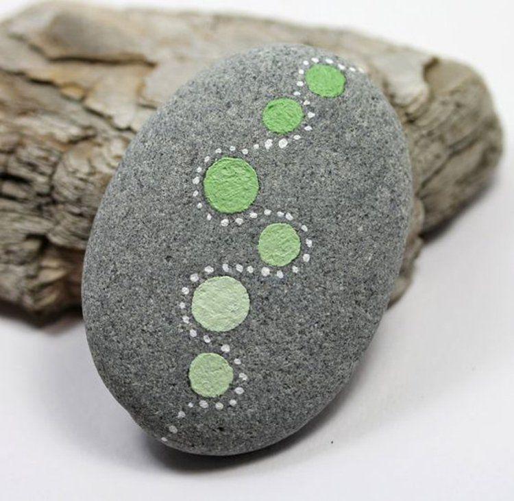 Feng Shui gartendeko mit bemalten Steinen | Steine | Pinterest ...