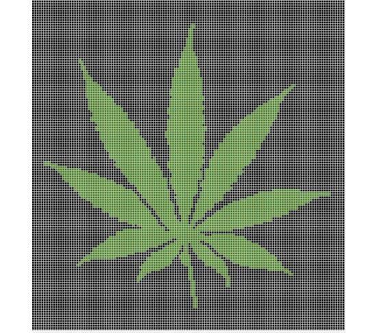 Pot Leaf Knitting Pattern : Marijuana Pot Leaf Crochet Afghan Pattern Graph Crochet Ideas Pinterest ...