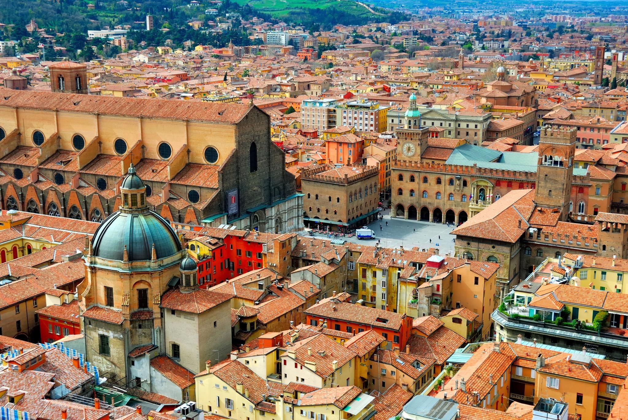 ღღ Beautiful Bologna capital city of Emilia Romagna Region in Italy ღღ